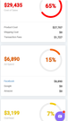 expenses mobile view