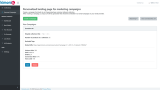 AI Personalized Collection for email marketing