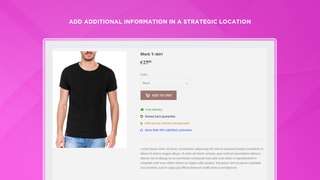 Add additional information in a strategic location