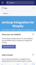 zenloop app for Shopify - Dashboard view