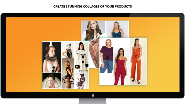 Create Stunning collages of your products