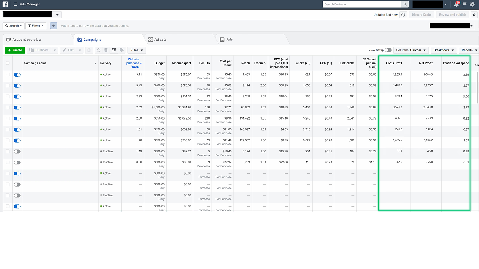 Real-time profit per sale in Facebook Ads. Optimize for profit!