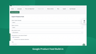 Google Product Feed Products support multi-languages