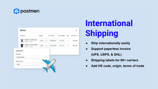 Ship internationally on Shopify