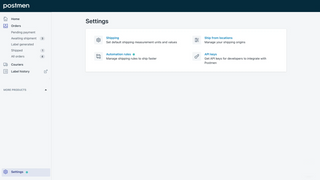 Configure settings to optimize your shipping process