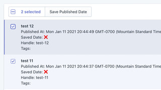 Save the published date of articles before reordering them