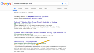 Product and Rating Rich Snippet example as a result of using Sch
