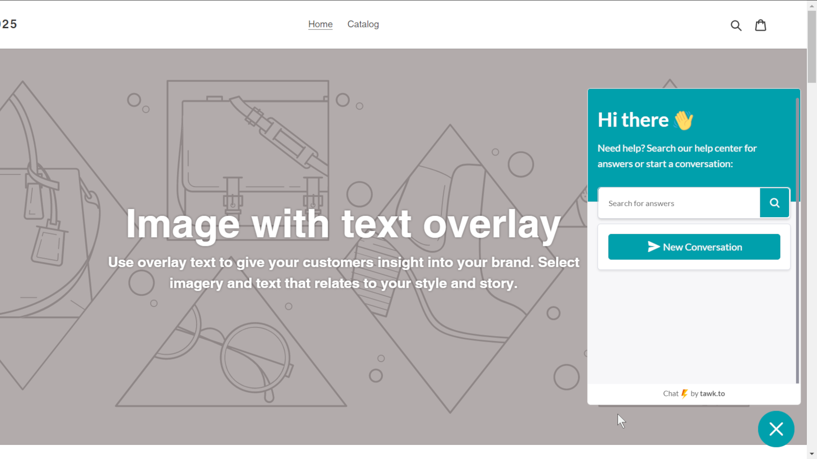 tawkto, Easy Chat Widget Install for Shopify