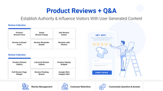 Product Reviews with Question answer module