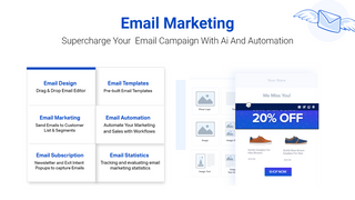 Email marketing & Push with workflow Automation