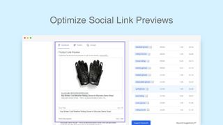 Set Social Sharing Images apart from feature images