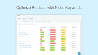Optimize Products with Niche Keywords