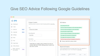 Give SEO Advice Following Google Guidelines
