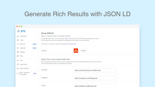 Custom JSON LD Options to Generate Google Rich Results
