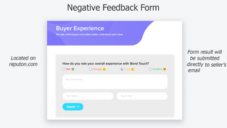 Reputon Shopify feedback form
