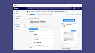 Create your own Messenger chatbot menu