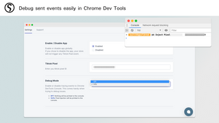 Debug sent events easily in Chrome Dev Tools