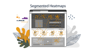 Heatmaps are used to see what has the highest engagement