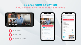 Go live from anywhere