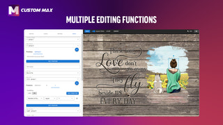 Multiple editing functions