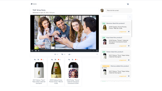 Host live product events