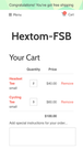 Shopify App, Free Shipping Bar by Hextom Inc, Offer free shippin