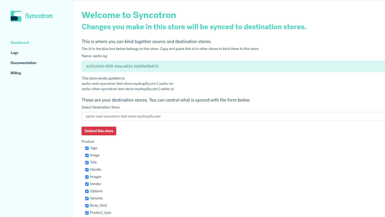 Welcome to Syncotron - granular control over your syncing