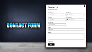 Contact Form Builder 01