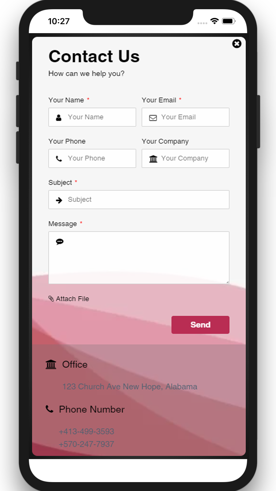 Contact Form Builder 08