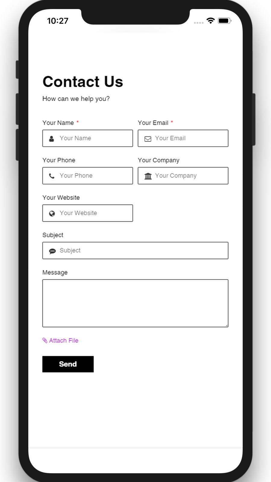 Contact Form Builder 09