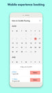 Mobile Customer Booking Experience - Choose Date