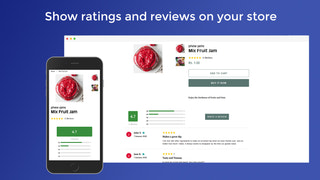 Fully responsive mobile ready Reviews widget