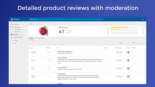 Chose the reviews which you want to publish
