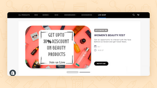 Showcase and Create Shopping Shows for your audience