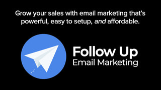 Automated email marketing that's affordable