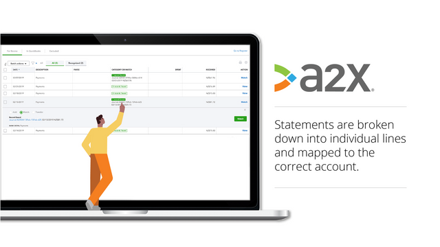 All revenue, fees, refunds and other charges mapped correctly.