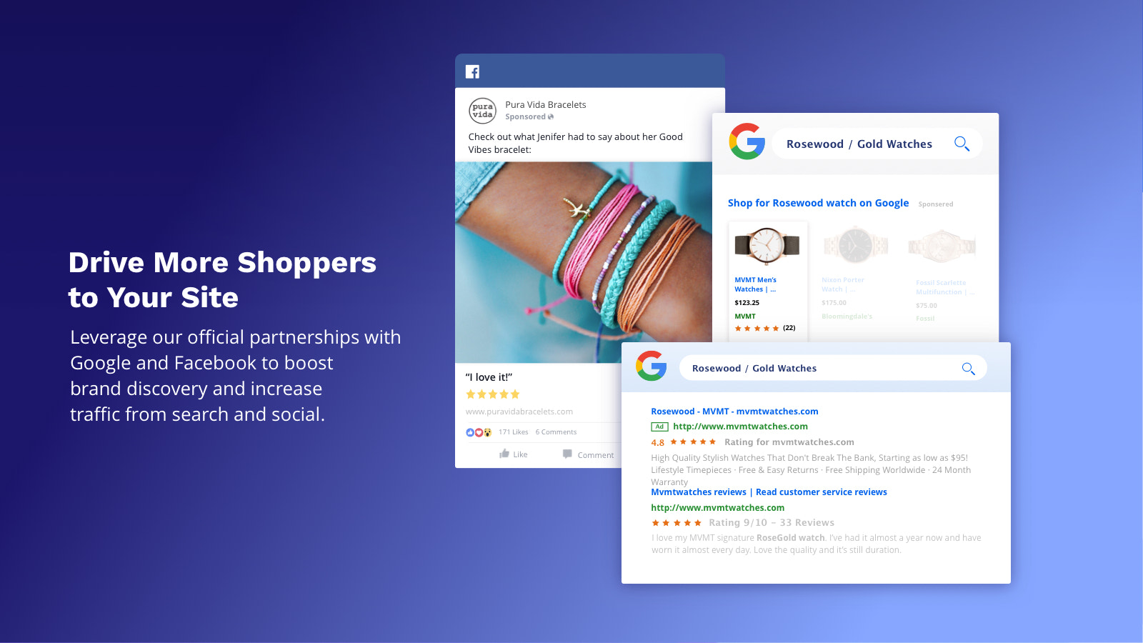 Drive Shoppers to Your Site