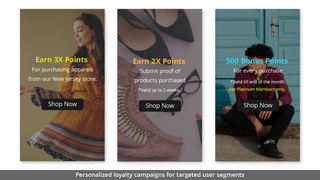 PERSONALIZED LOYALTY CAMPAIGNS FOR TARGETED USER SEGMENTS