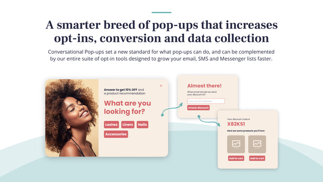 Conversational Pop-ups are the new way to collect data & opt-ins