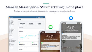 Manage messenger & SMS marketing in one place