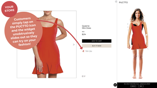 Virtual try on clothes and accessories with Puctto