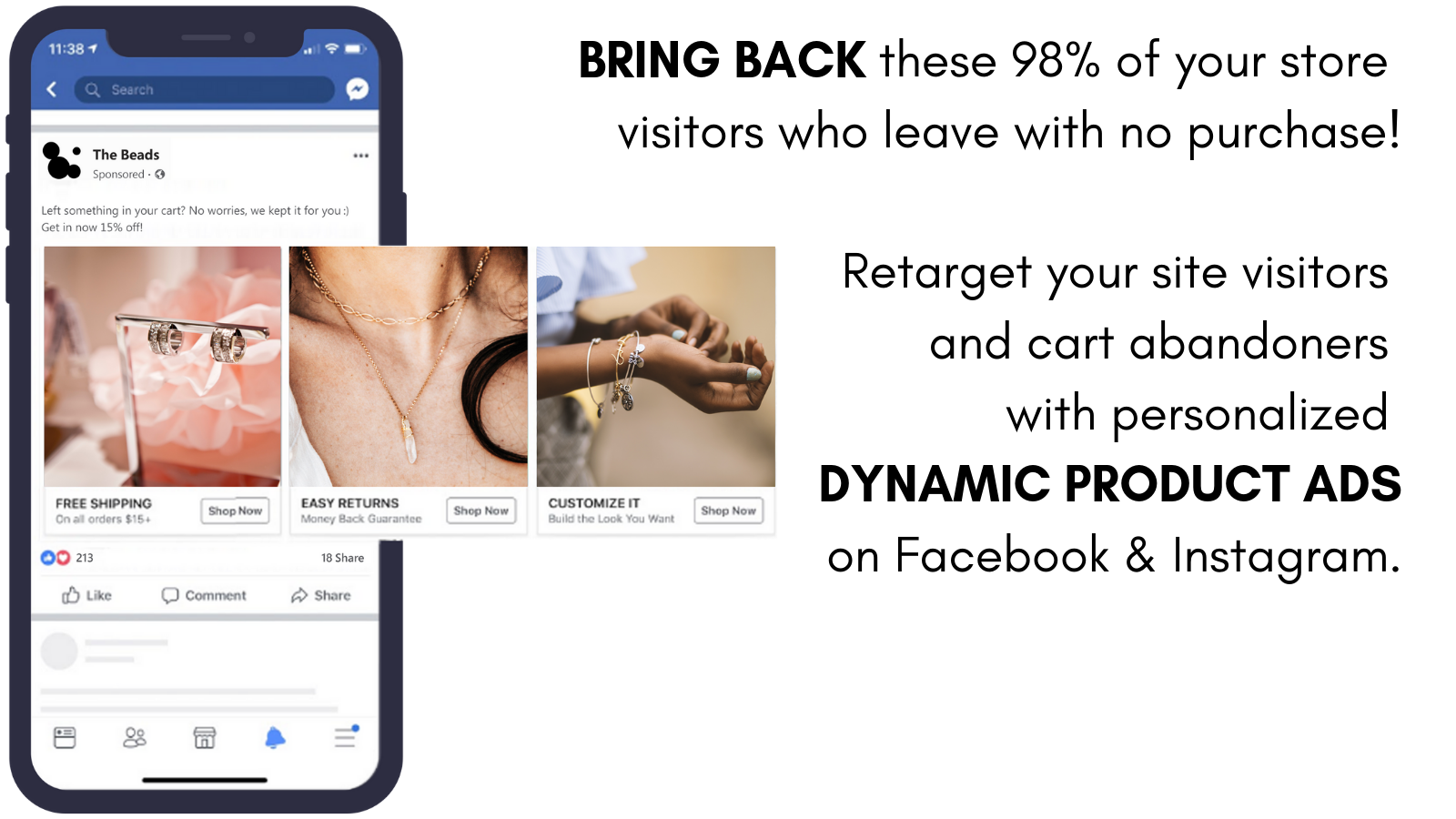 Regular Dynamic Product Ads on Facebook and Instagram