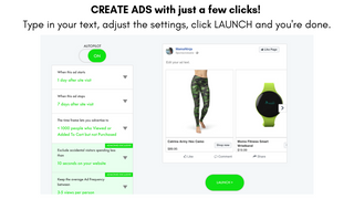Creating Ads with just a few clicks