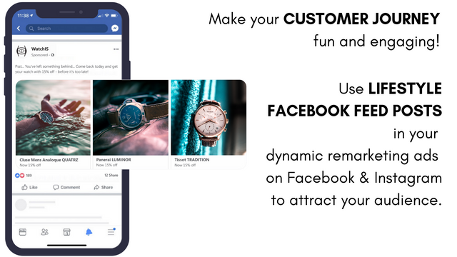 Dynamic Lifestyle Ads: retargeting with Facebook posts
