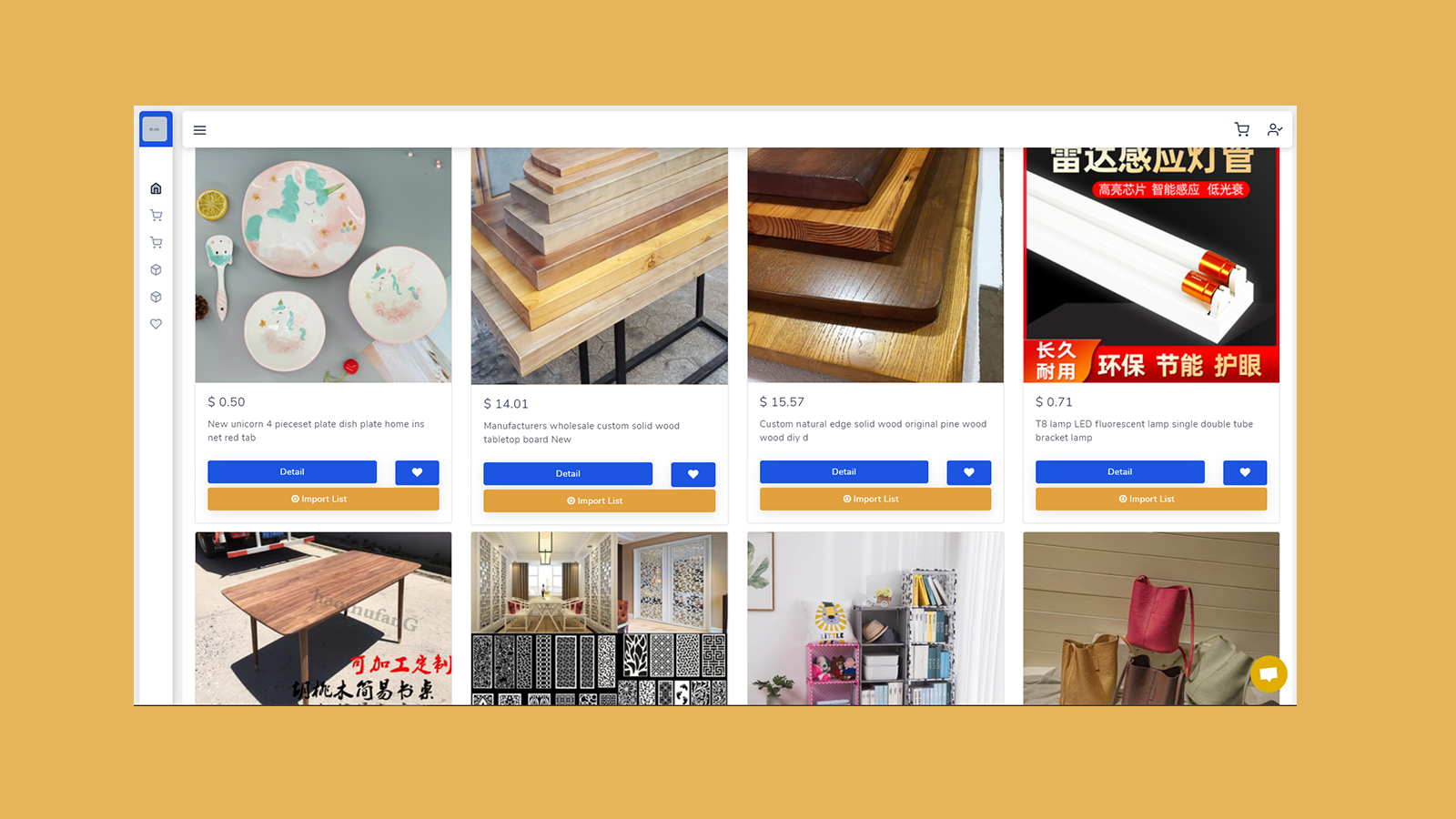 Search 1688 Products