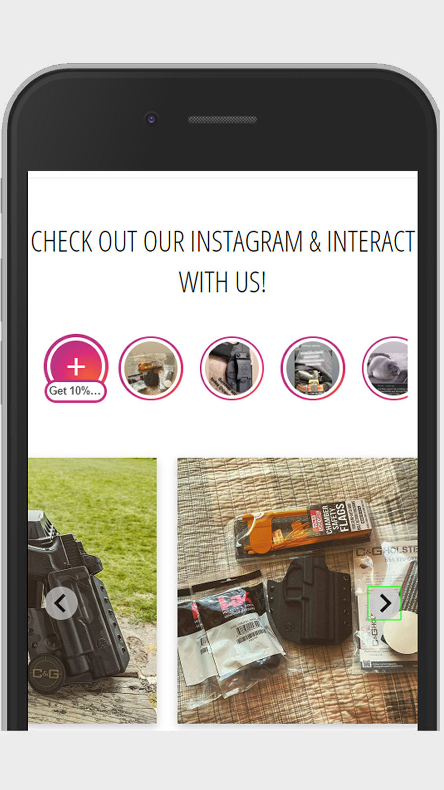 Mobile Instagram Stories and Highlights