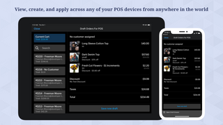 View, create, and apply across any of your POS devices globally