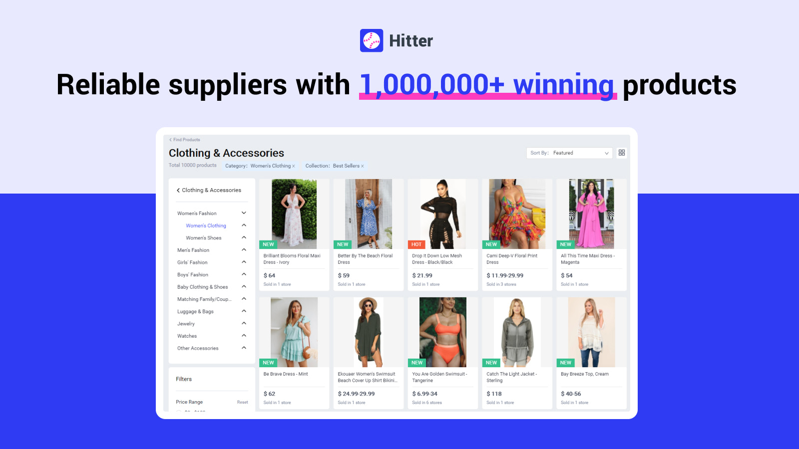 Find Winning Products With Hitter
