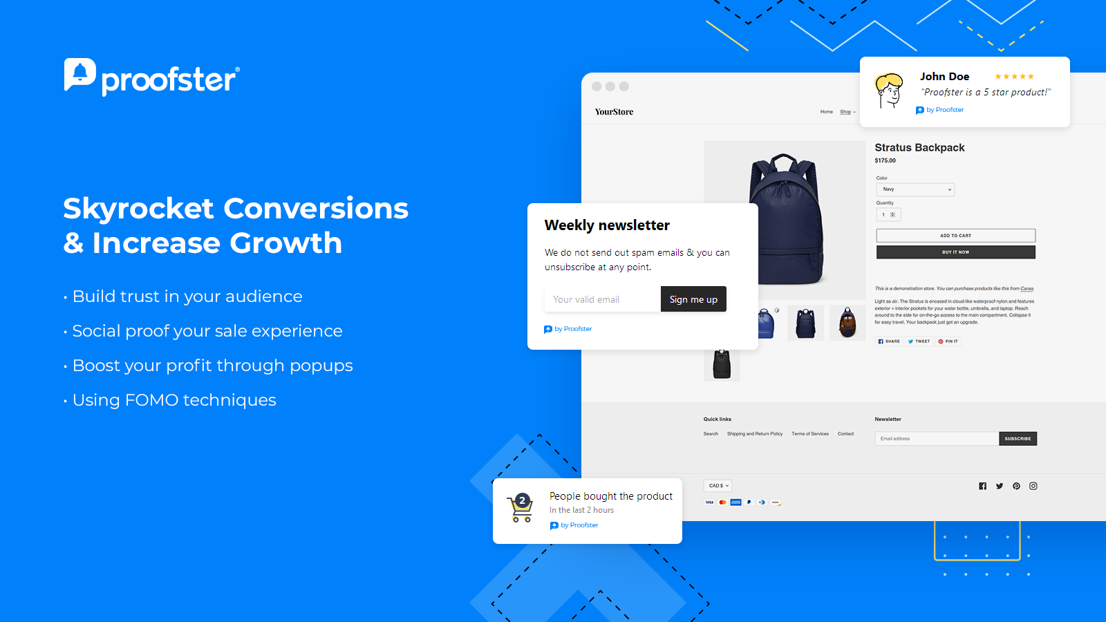 Conversion rates boost