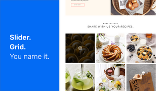 Shoppable Instagram Feed: Slider